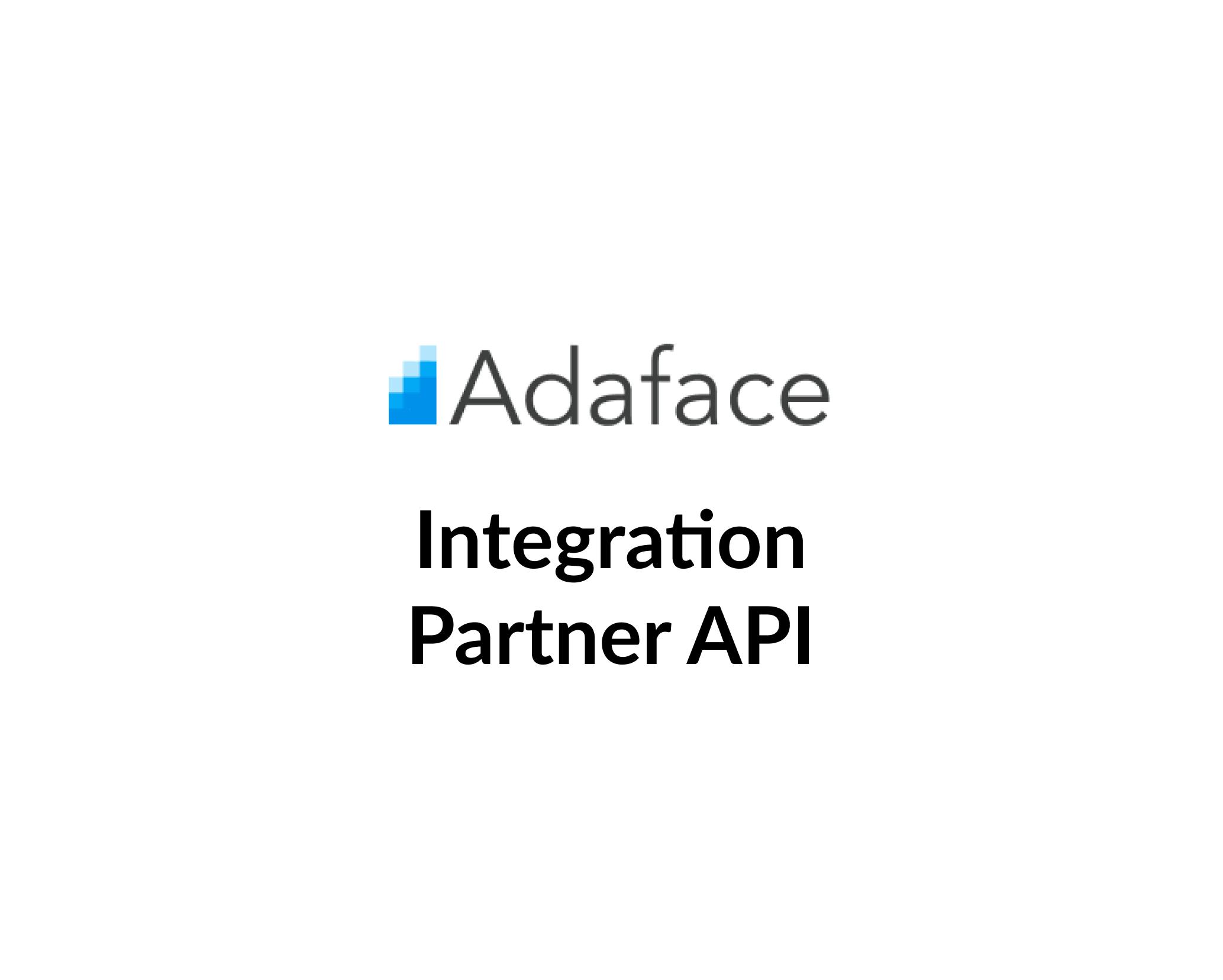 Integration Partner API image
