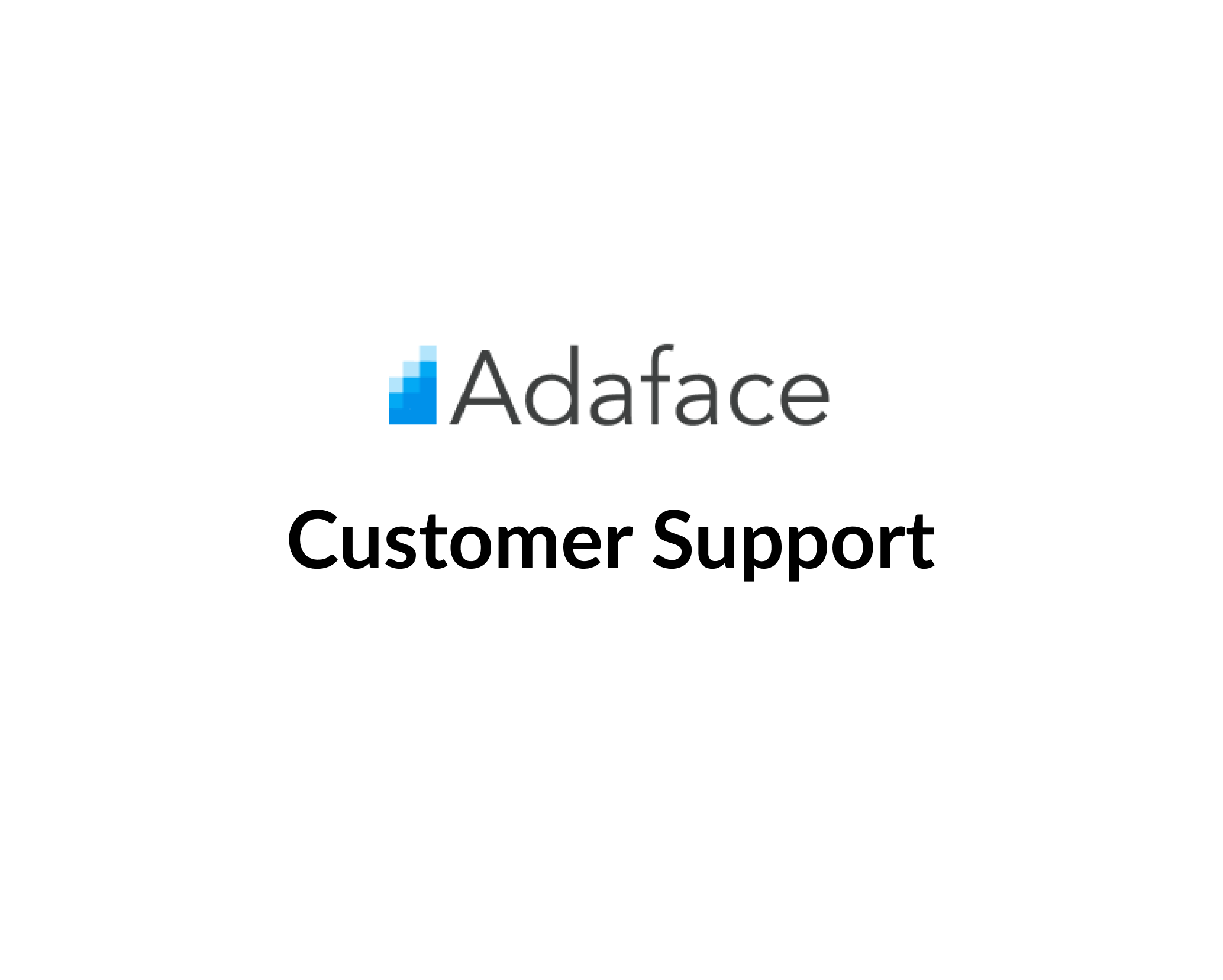 Customer Support at Adaface image