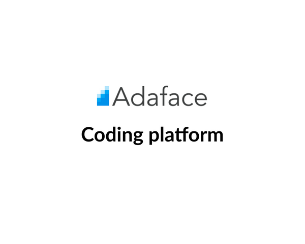 Key Features of Adaface Coding Platform