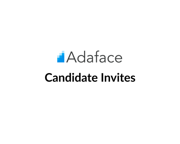 Ways to invite candidates