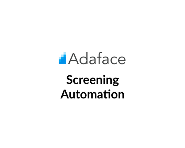 Automate the application and screening process