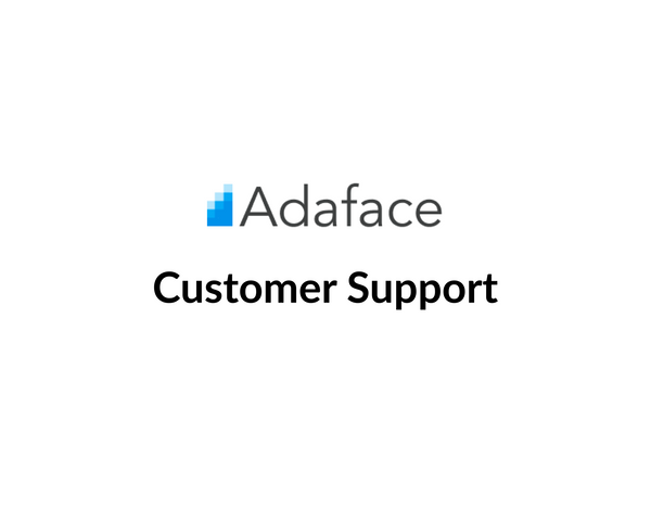 Customer Support at Adaface